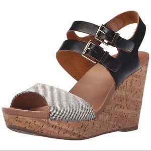 Dr. Scholl's Mashup Wedge Sandals Sz 9.5